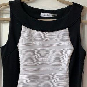 Black and White Calvin Klein Dress